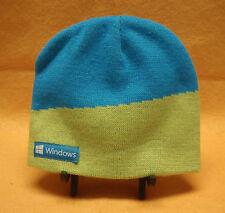 Microsoft Windows 8 Green and Blue Knit Beanie Hat