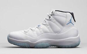best service 7c0c0 36a24 Image is loading Nike-Air-Jordan-11-XI-Retro-Legend-Blue-