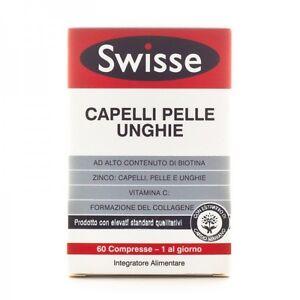 SWISSE-CAPELLI-PELLE-UNGHIE-con-BIOTINA-60-Compresse
