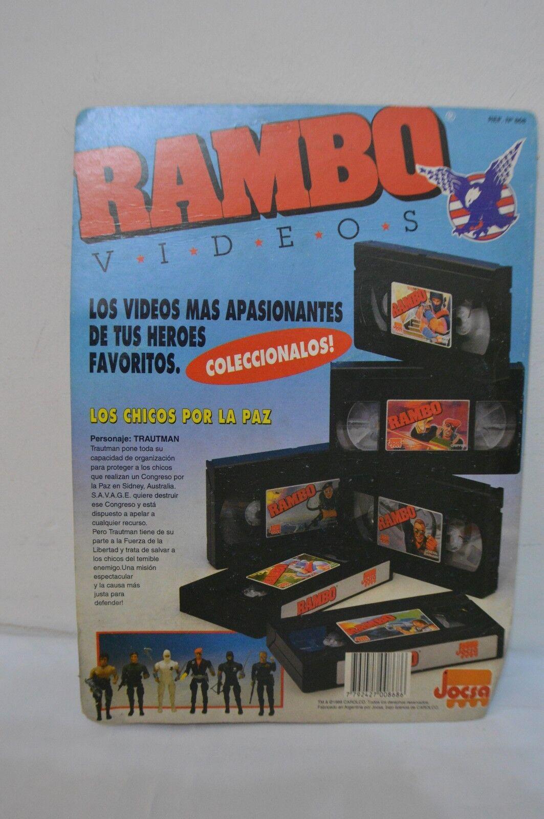 ULTRA RARE 1988 1988 1988 - ARGENTINA RAMBO