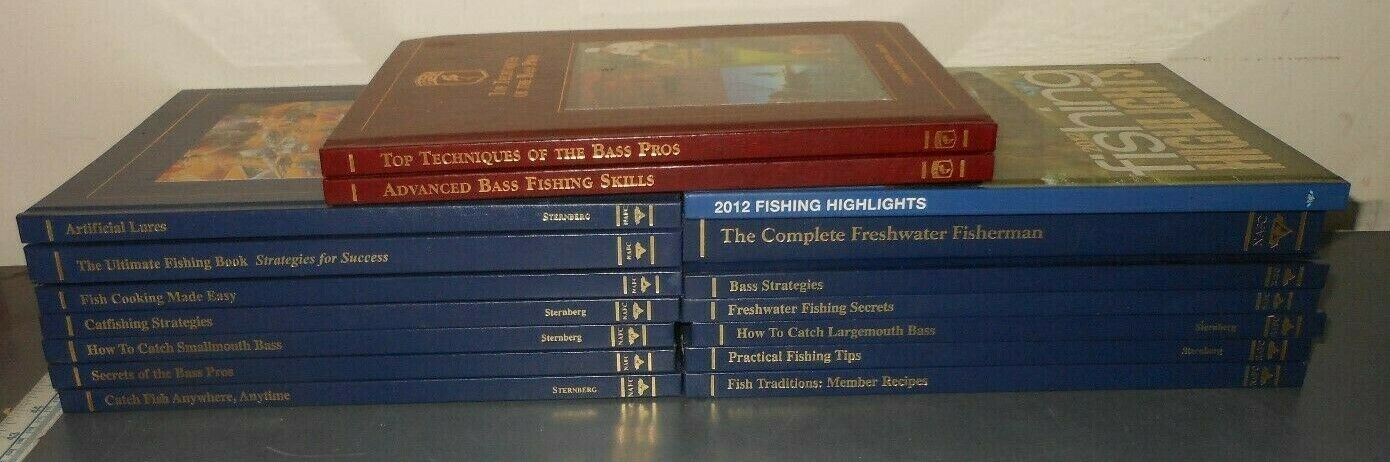 North American Fishing Club BASS Books Cooking Camping Lures