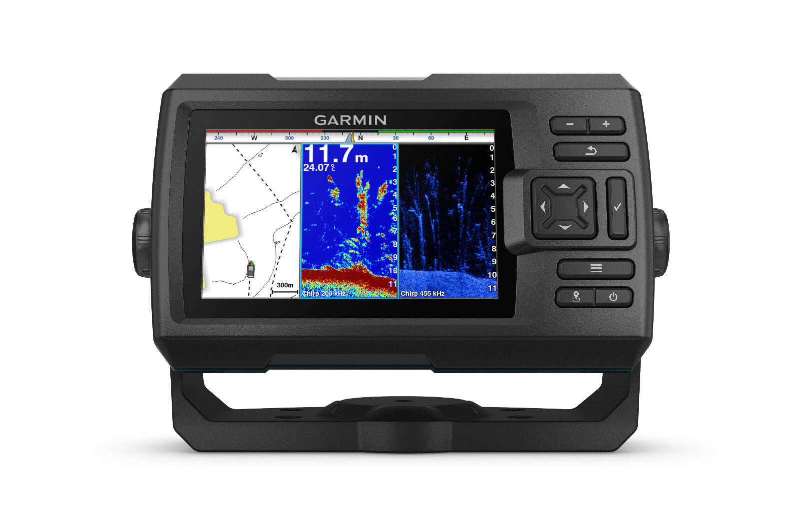 Garmin STRIKER™ Plus 5cv Fischfinder inklusive Geber Echolot GPS Tiefenmesser Tiefenmesser Tiefenmesser 529c31
