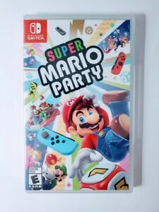 Super-Mario-Party-Nintendo-Switch-Video-Game-Amiibo-Compatible-New-Sealed