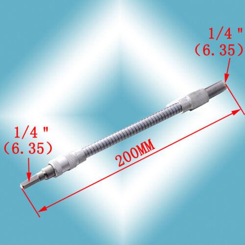 150mm Silber Flexible Welle Biegewellenschaft Bohrschrauber Werkzeug Neu DE