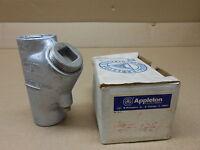 1 Appleton Sf-125 Sf125 1-1/4 Sealing Fitting Drain Connector