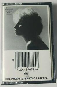 Barbra Streisand Cassette Greatest Hits Volume II CBS Records Tape 1978