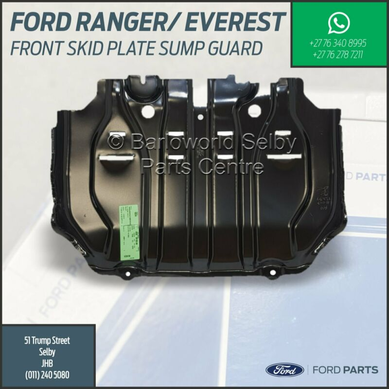 New Genuine Ford Ranger, BT-50, Everest Front Skid Plate - Sump Guard