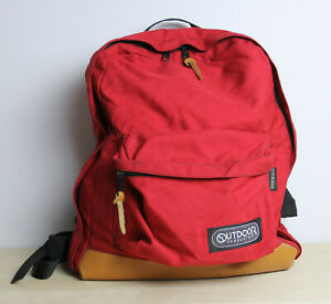 Vintage OUTDOOR PRODUCTS Red Leather