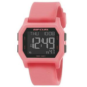 Rip-Curl-SONIC-DIGITAL-Silicone-Band-Waterproof-Surf-Watch-New-A2729G-Peach