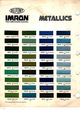 imron color chart | Colorpaints.co