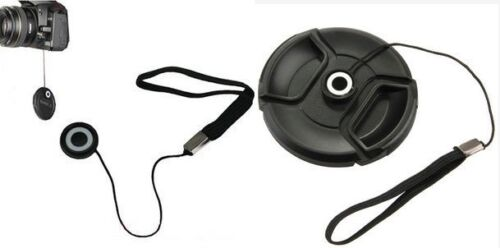 Pack of 2 x Lens Cover Cap Keeper Holder For Any Camera or Lens