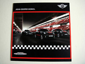 Mini  John Cooper Works  July 2014 Sales Brochure - <span itemprop=availableAtOrFrom>Buckinghamshire, United Kingdom</span> - Returns accepted Most purchases from business sellers are protected by the Consumer Contract Regulations 2013 which give you the right to cancel the purchase within 14 days after  - Buckinghamshire, United Kingdom