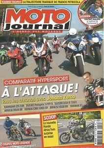 Glorieux Moto Journal N°2150 Aprilia Rsv4 Rf / Mbw S 1000 Rr / Ducati 1299 Panigale S