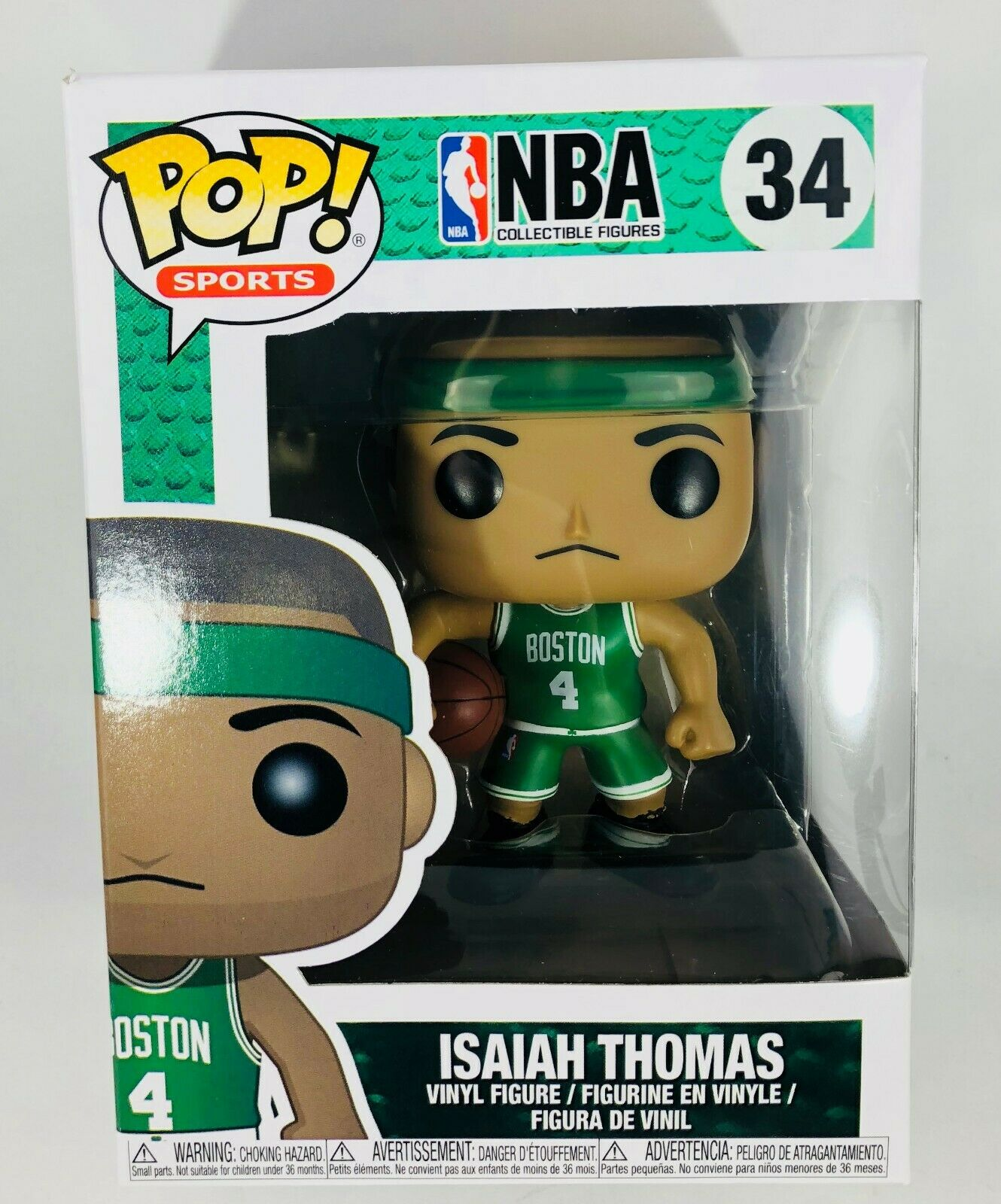 Funko POP NBA Isiah Thomas Collectible Vinyl Figure