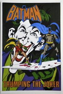 ART PORTRAIT POSTER JOKER 22x34 DC COMICS BATMAN 16824