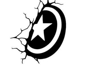 Decal-Vinyl-Truck-Car-Sticker-Marvel-Comics-Avengers-Shield-Captain-America
