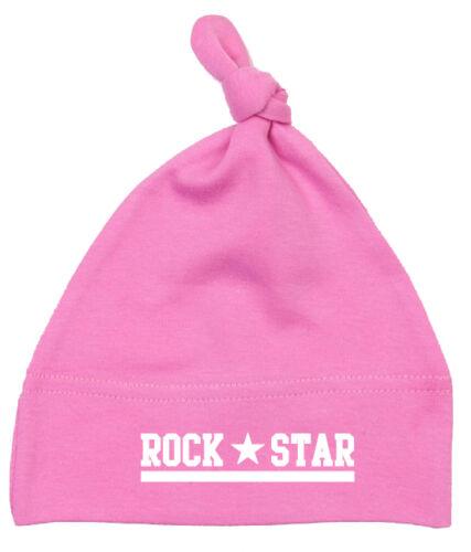 ROCK STAR Babymütze pink