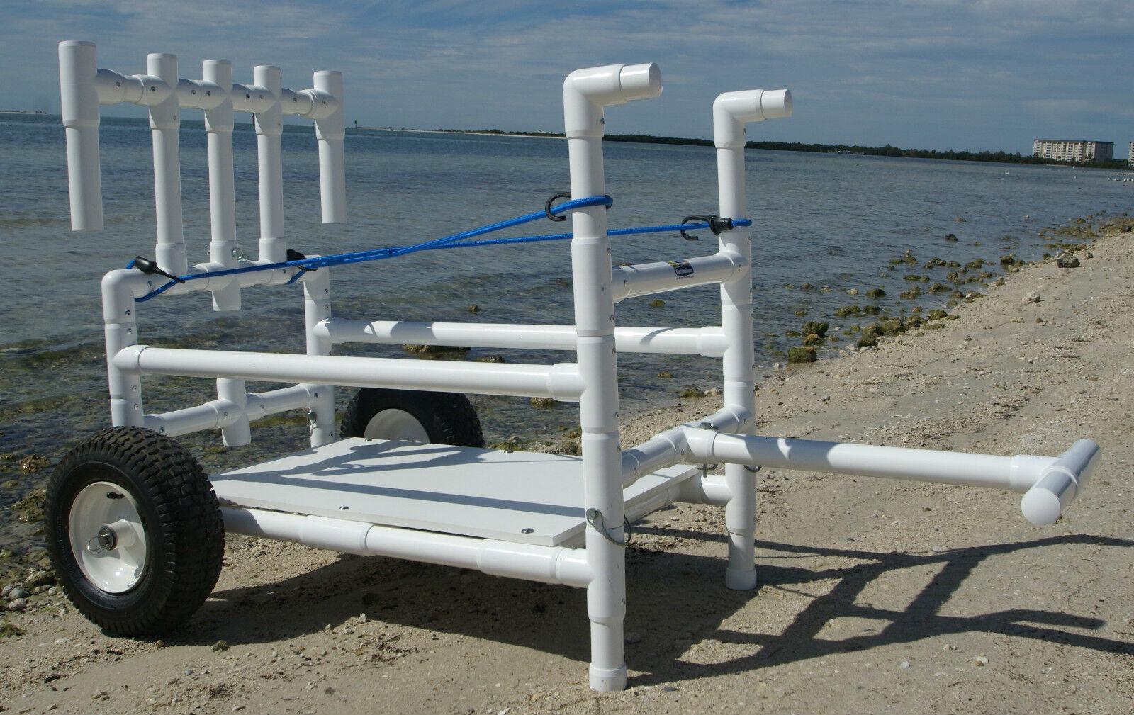 CartMakers  Fishing Cart- Heavy Duty- Wide Wheels