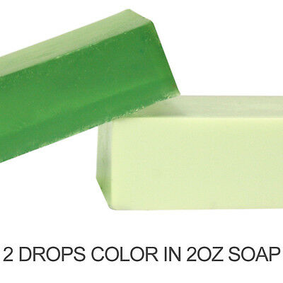 Forest Green Liquid Color Dye (use in MP Soap, Lotions, bath salts and fizzies)