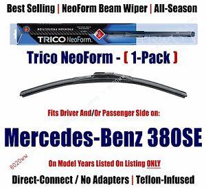Super-Premium-NeoForm-Wiper-Blade-Qty-1-fits-1984-85-Mercedes-Benz-380SE-16210
