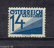 Austria 1927  -  Mi 141 *  Postage due / denomination numbers