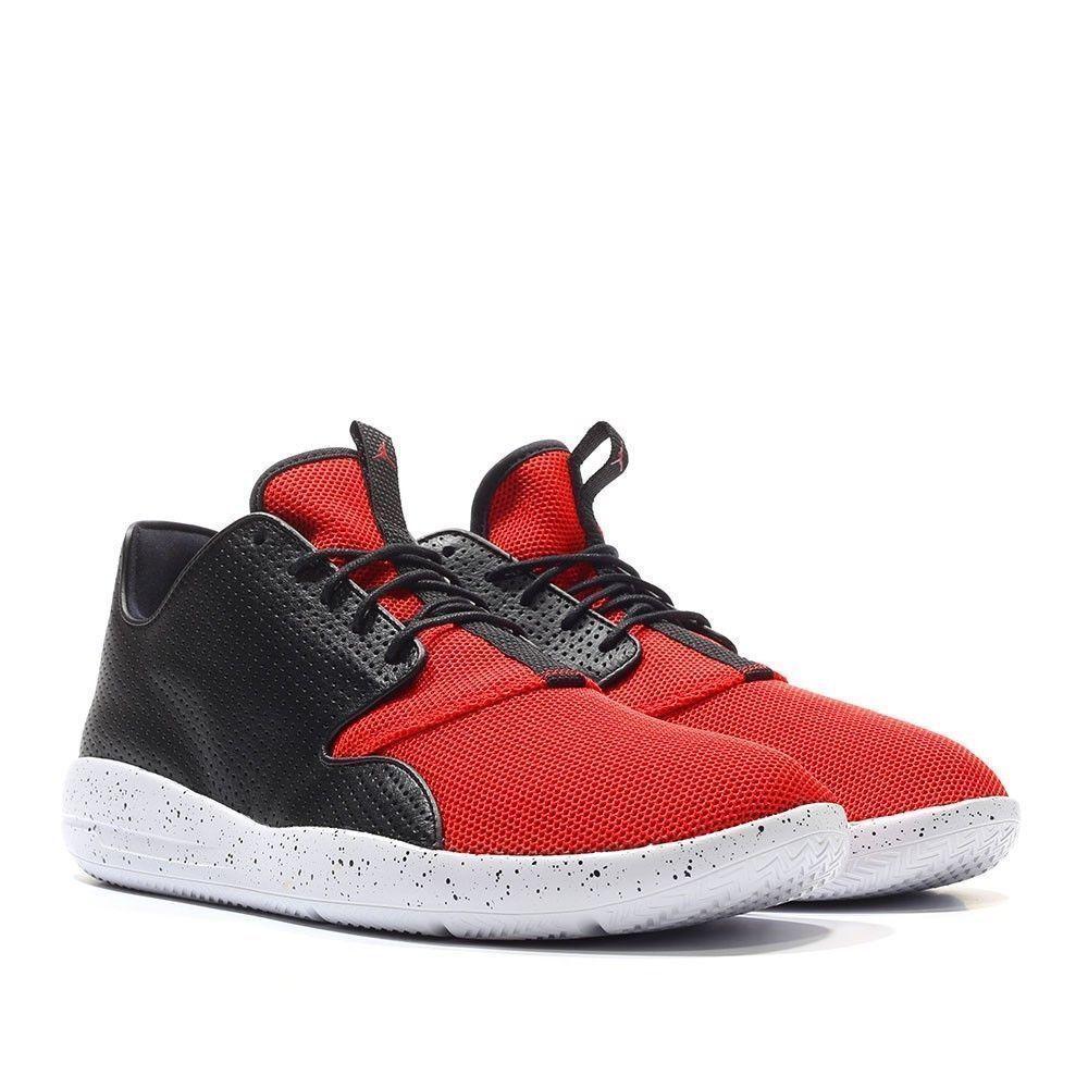 NIKE Jordan Eclipse 724010-018 Black Red shoes  Sz  12 (886668147475)