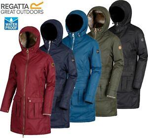 Regatta-Ladies-ROMINA-Insulated-Waterproof-Breathable-Jacket-Coat-Womens