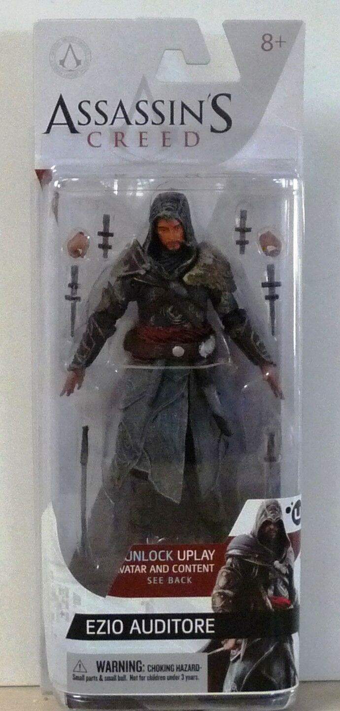 McFarlane Toys Assassins Creed Series 3 Ezio Auditore Da Firenze Figure New