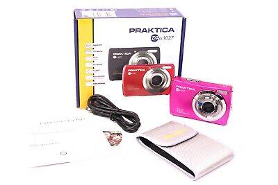 "6,9 cm TFT 4 veces digital Praktica dpix 1027 cámara digital 10,0 mp 2,7/"""