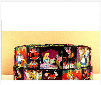 Alice in Wonderland ribbon 150m long $225