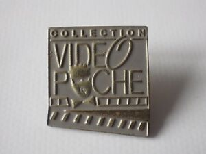 Pin-039-s-Vintage-Attachment-Year-90-Adv-Collection-Video-Pocket-M034