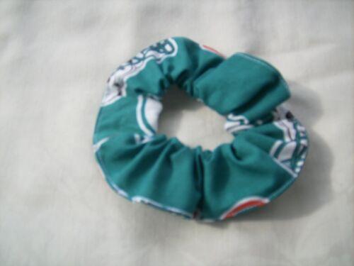 Handmade ponytail holders scrunchies bracelet NFL football teams