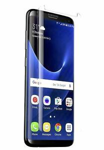 Curva-de-Vidrio-ZAGG-Tempered-protector-de-pantalla-para-Samsung-Galaxy-S8-claro-PLUS