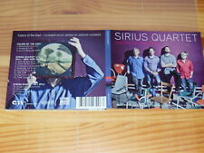 SIRIUS QUARTET - COLORS OF THE EAST / DIGIPACK-CD 2015 MINT!