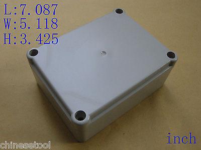 "New Plastic Project Box Enclosure Case Electronic DIY 7.087""x5.118""x3.425"""