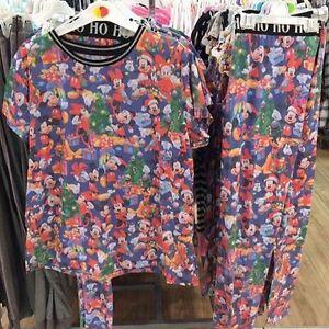 Primark-Ladies-DISNEY-CHRISTMAS-Pyjamas-MICKEY-amp-MINNIE-MOUSE-PLUTO-DONALD-DUCK