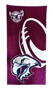 NRL-Manly-Sea-Eagles-Beach-Towel-Bath-Towel