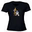 Juniors-Girl-Women-Vneck-Tee-T-Shirt-Gift-Star-Wars-R2D2-C-3PO-Robot-Droid-Rebel thumbnail 4
