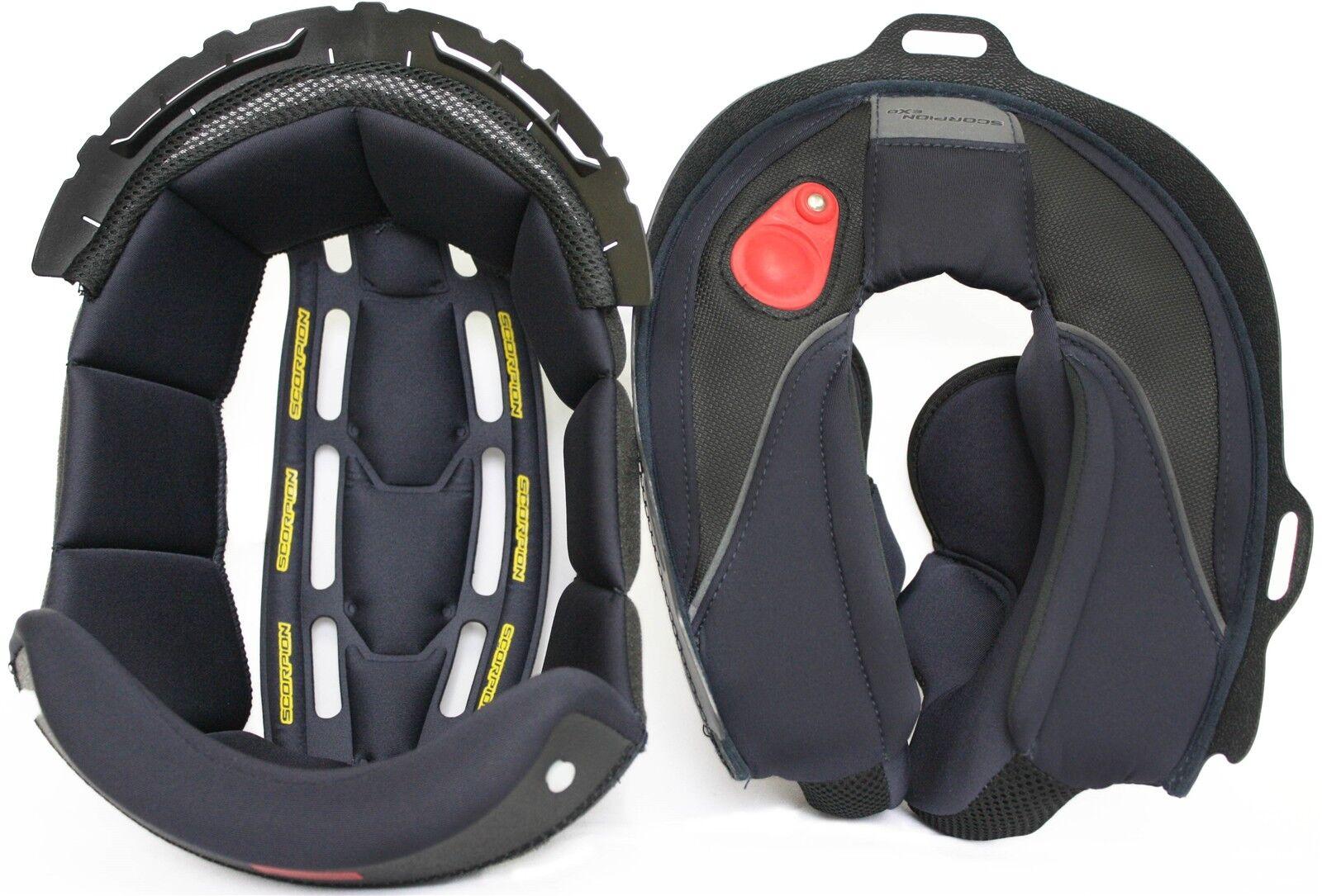 ORIGINAL SCORPION forro interior  para casco motocicleta exo-3000 Air cojín del  discount store
