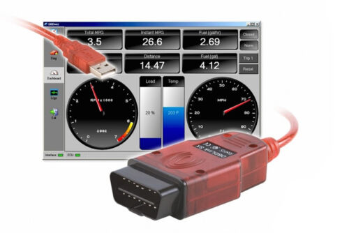 Valise diagnostique auto Pro Multimarque EObd Obd2 Diagnostic OBDLINK SX USB