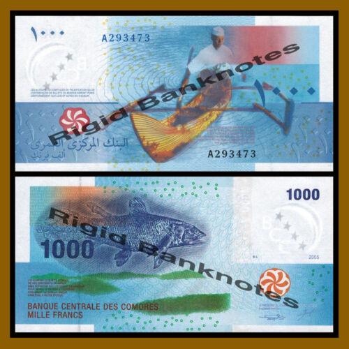Francs Comoros 1000 1,000 2005 P-16 Unc