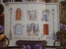 Magazine De fil en aiguille N°42 Passion du point de croix Véronique Enginger
