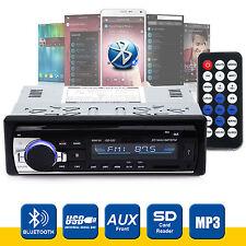 Bluetooth Coche Radio Estéreo reproductor de unidad principal MP3/USB/SD/AUX-IN/FM la en-rociada IPod UK