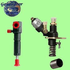 Electric Diesel Fuel Pump Amp 4 Left Port Injector For Amico Shuanghao Power Quip