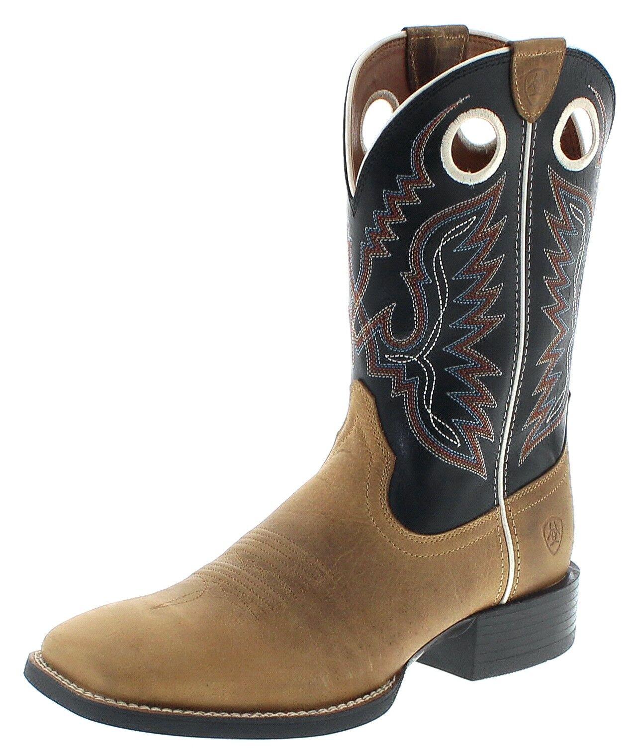 Ariat 23198 Sport Range señores Western botas beige botas de cuero