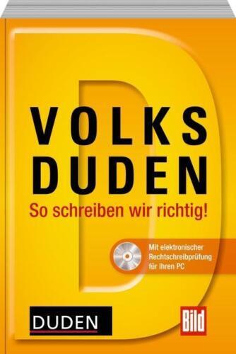 1 von 1 - Volksduden Volkswörterbuch zur deutschen Rechtschreibung