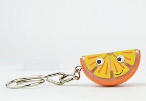 Kidrobot Yummy World Fresh Friends Key Chain - Orange Slice