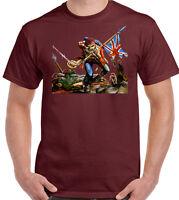 The Parachute Regiment Mens T-Shirt Para Regt Paratrooper Paras 1 2 3 4 10 SFSG