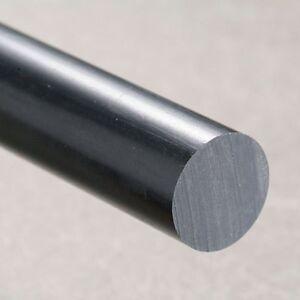 12 mm Natural Nylon rod x 250 mm long  Engineering round bar