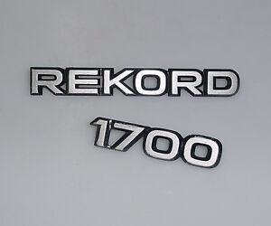 orig-Opel-Rekord-D-1700-Emblem-Schriftzug-Typenschild